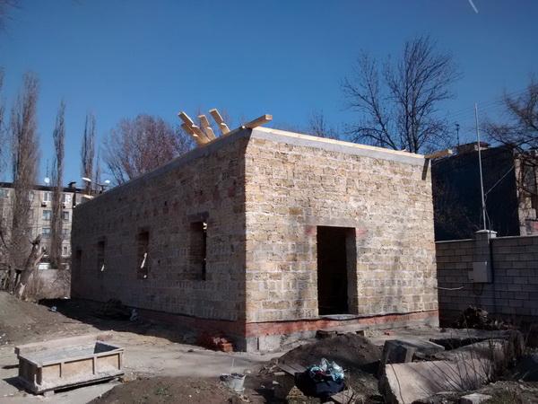 Будівництво нашої церкви - Перед початком робіт
