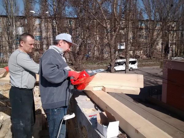 Будівництво нашої церкви - Процес роботи